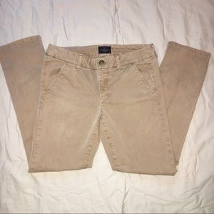 American Eagle Skinny Chinos Size 8